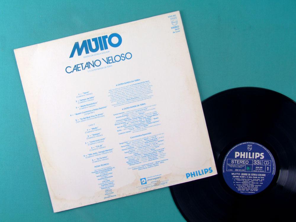LP CAETANO VELOSO MUITO DENTRO DA ESTRELA AZULADA 1978 GROOVE BOSSA PSYCH BRAZIL