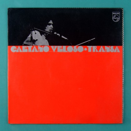 LP CAETANO VELOSO TRANSA 1972 LONDON 2ND GAL MACALE BRAZIL