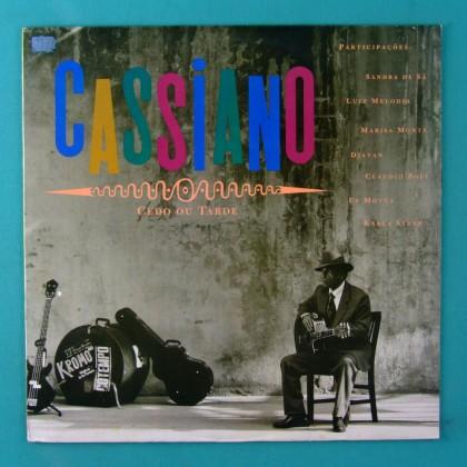 LP CASSIANO CEDO OU TARDE 1991 DJAVAN LUIZ MELODIA SANDRA SA ED MOTTA FOLK FUNK SOUL GROOVE BRAZIL