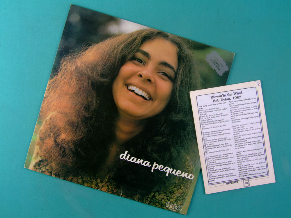 LP DIANA PEQUENO 1978 FOLK REGIONAL BRAZIL