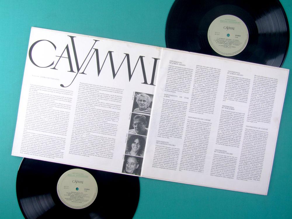 LP DORIVAL CAYMMI PRIVATE FUNDACAO EMILIO ODEBRECHT 1985 CAETANO VELOSO TOM JOBIM SAMBA BOSSA FOLK BRAZIL