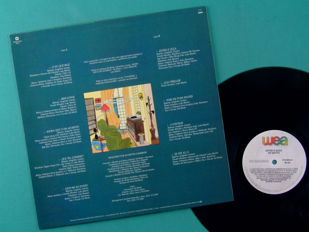 LP ED MOTTA ENTRE E OUCA 1992 SOUL GROOVE JAZZ BOSSA FUNK DJ BRAZIL