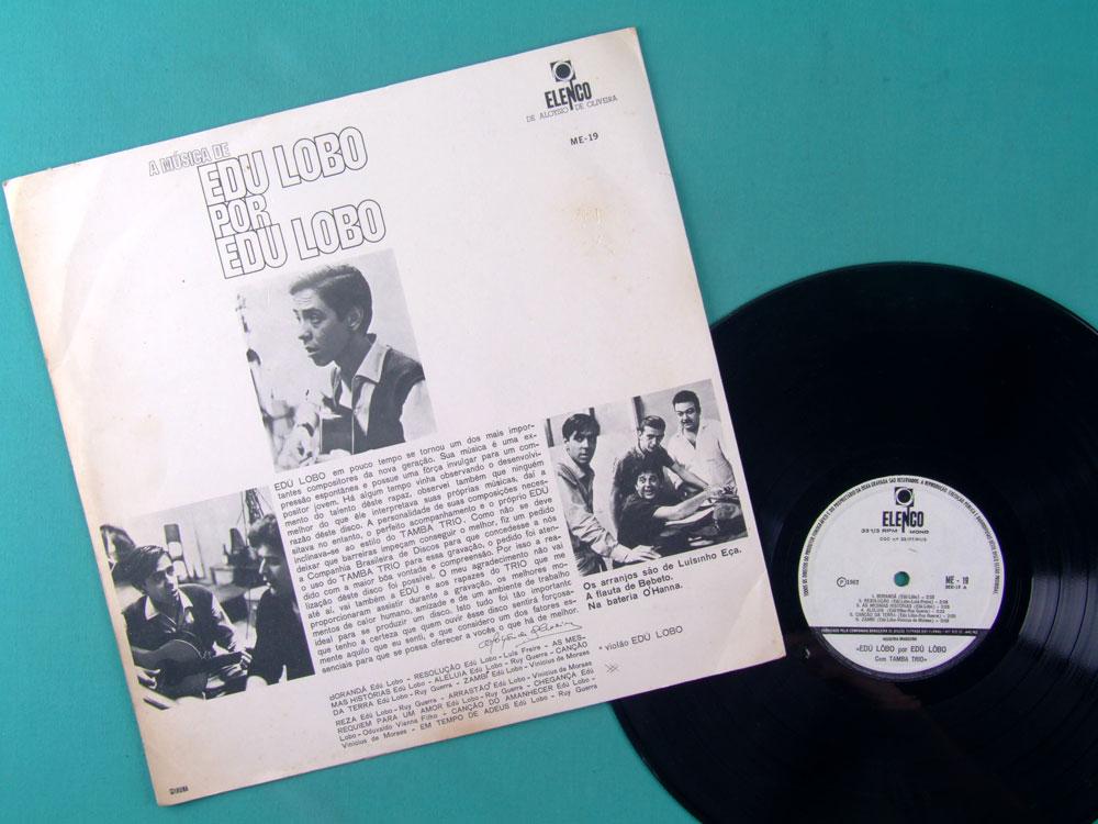 LP EDU LOBO A MUSICA 1967 JAZZ BOSSA TAMBA TRIO DEBUT BRAZIL