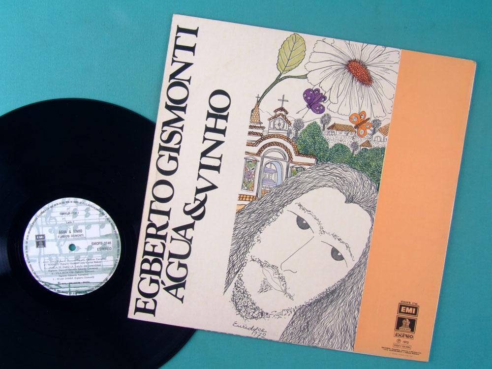 LP EGBERTO GISMONTI 1972 AGUA E VINHO 2ND PIRI BOSSA JAZZ BRAZIL