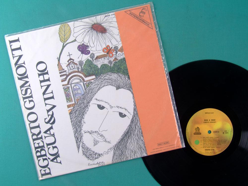 LP EGBERTO GISMONTI 1972 AGUA E VINHO ORIGINAL 1ST PIRI BOSSA JAZZ BRAZIL