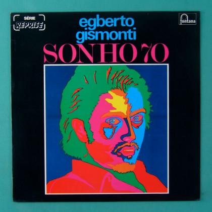 LP EGBERTO GISMONTI SONHO 70 2ND 1970 DULCE NUNES BRAZIL