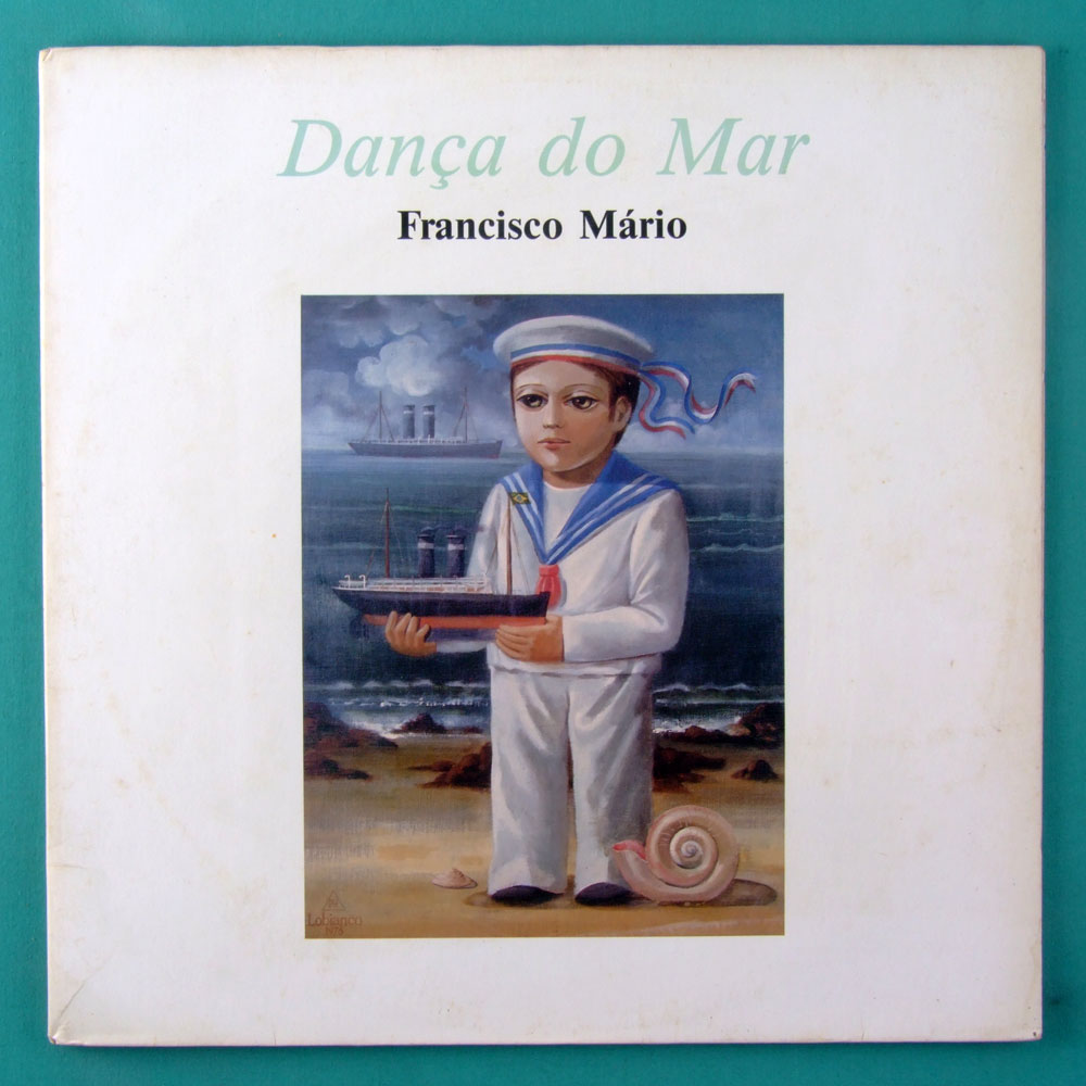 LP FRANCISCO MARIO DANÇA DO MAR FOLK BRAZIL