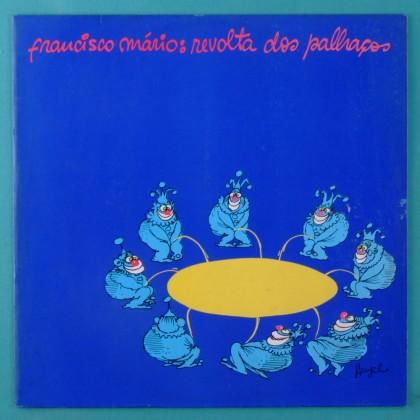LP FRANCISCO MARIO REVOLTA DOS PALHACOS FOLK BRAZIL