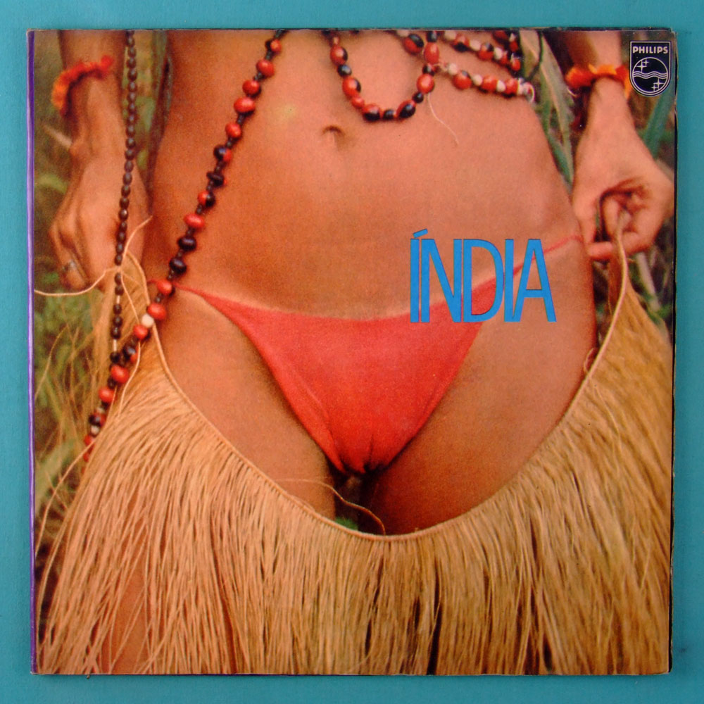 LP GAL COSTA INDIA 1982 2ND ROGERIO DUPRAT GILBERTO GIL VEROCAI DOMINGUINHOS TENORIO JR TONINHO HORTA FOLK PSYCH BRAZIL