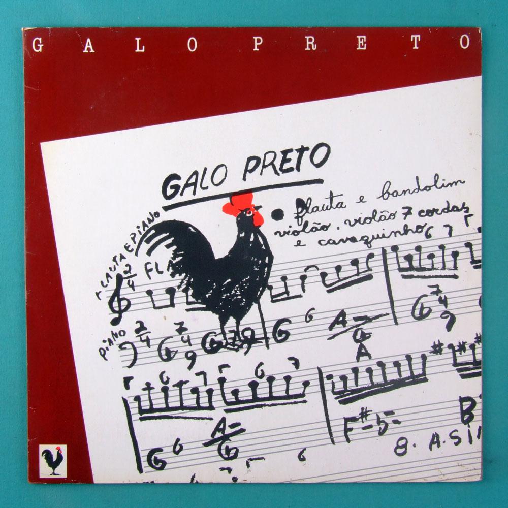 LP GALO PRETO INSTRUMENTAL SAMBA CHORO BRAZIL