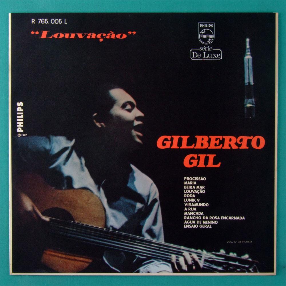 LP GILBERTO GIL 1ST LOUVACAO 1967 DEBUT ORIGINAL DORY CAYMMI GROOVE BOSSA BRAZIL