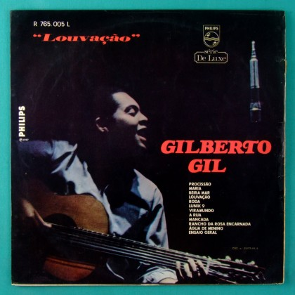 LP GILBERTO GIL LOUVACAO 1967 DEBUT 2ND EDITION GROOVE BOSSA BRAZIL