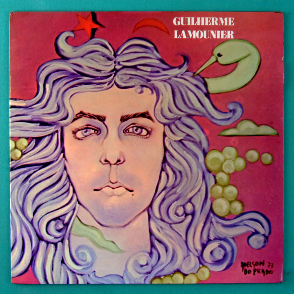 LP GUILHERME LAMOUNIER 1973 FOLK PSYCH HIPPIE ACID ROCK ORIGINAL BRAZIL