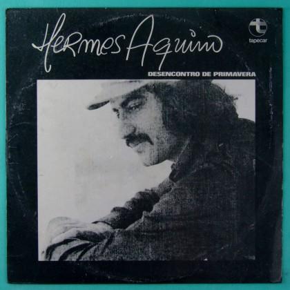 LP HERMES AQUINO DESENCONTRO DE PRIMAVERA 1977 FOLK MPB BRAZIL