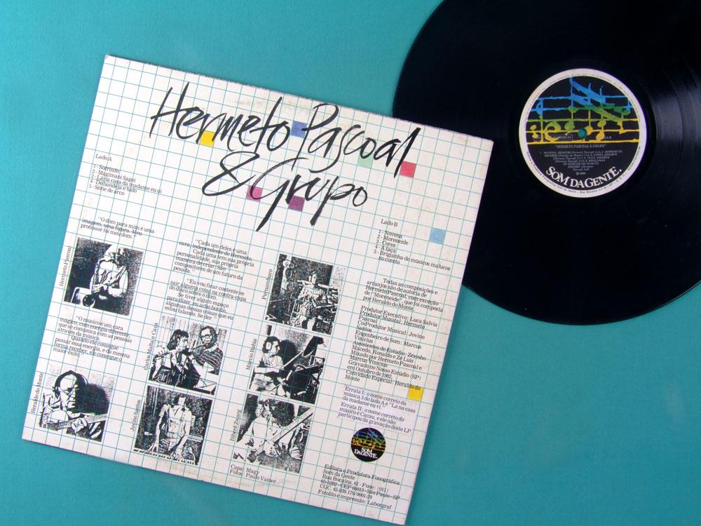 LP HERMETO PASCOAL E GRUPO 1982 BOSSA INSTRUMENTAL EXP BRAZIL