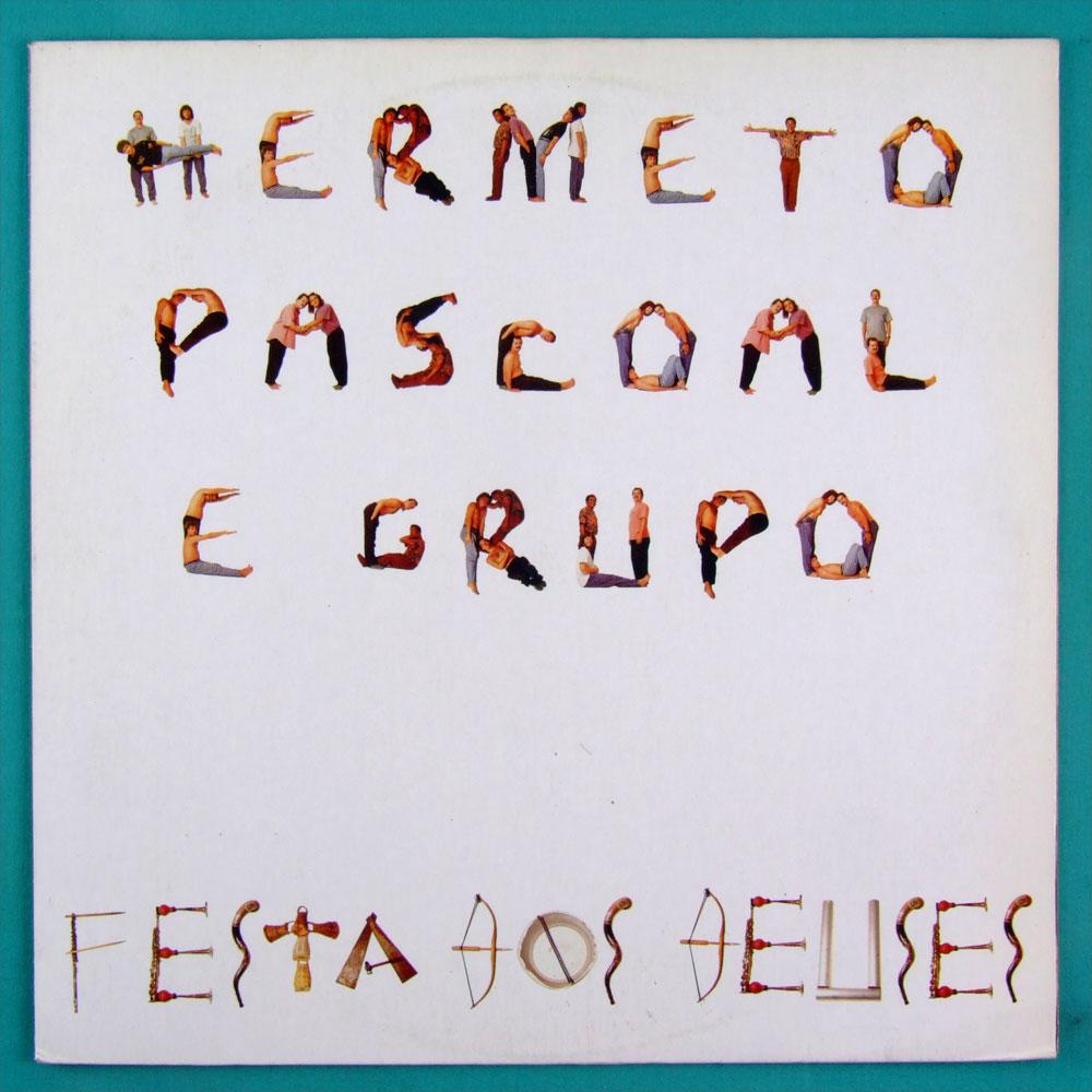 LP HERMETO PASCOAL E GRUPO FESTA DOS DEUSES 1992 EXP JAZZ BRAZIL