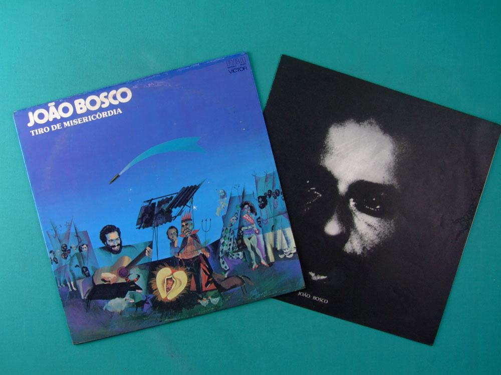 LP JOAO BOSCO TIRO DE MISERICORDIA 1977 SAMBA BOSSA BRAZIL