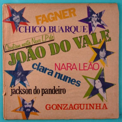 LP JOAO DO VALE 1981 NARA LEAO CHICO BUARQUE GONZAGUINHA TOM JOBIM JOAO DONATO BRAZIL
