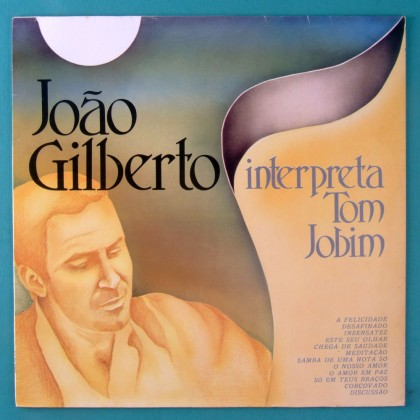 LP JOAO GILBERTO INTERPRETA TOM JOBIM BOSSA JAZZ SAMBA BRAZIL