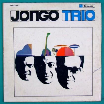 LP JONGO TRIO 1ST 1965 BOSSA NOVA JAZZ GROOVE FOLK BRAZIL