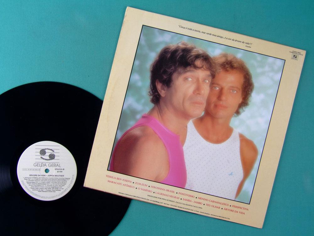 LP JORGE MAUTNER JACOBINA ARVORE DA VIDA 1988 PSYCH BRASIL