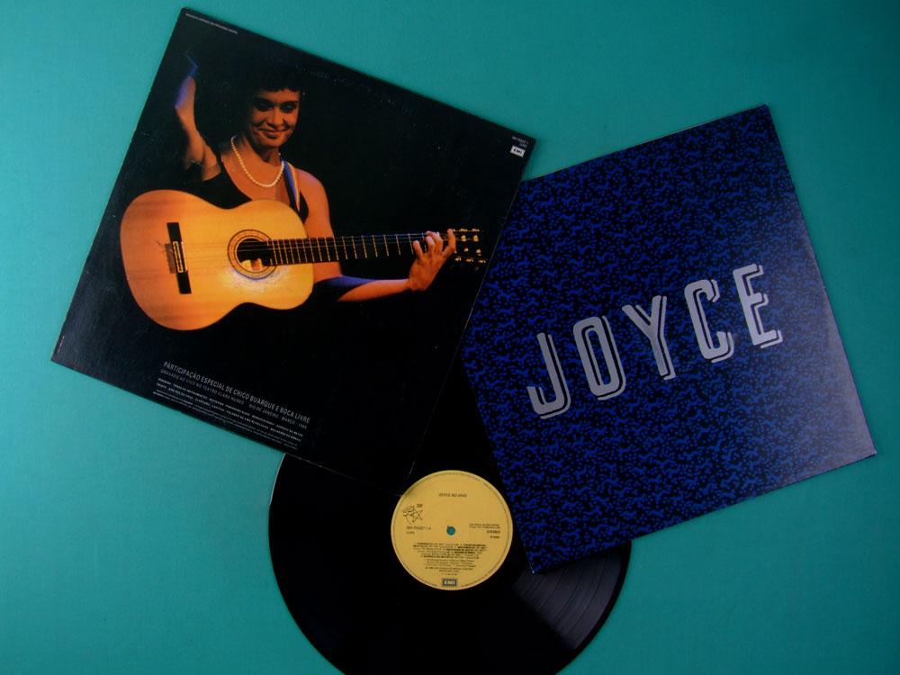 LP JOYCE AO VIVO 1989 BOSSA JAZZ FOLK SAMBA BRAZIL