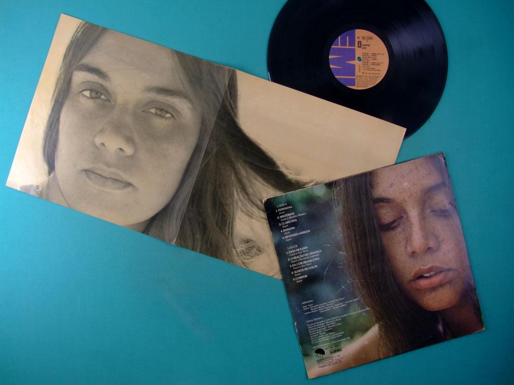 LP JOYCE FEMININA 1980 ORIGINAL WITH INSERT GROOVE FOLK BOSSA SAMBA JAZZ BRAZIL