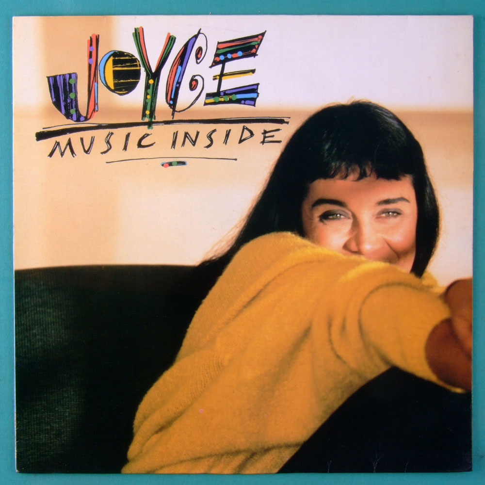 LP JOYCE MUSIC INSIDE 1990 BOSSA JAZZ FOLK SAMBA BRAZIL