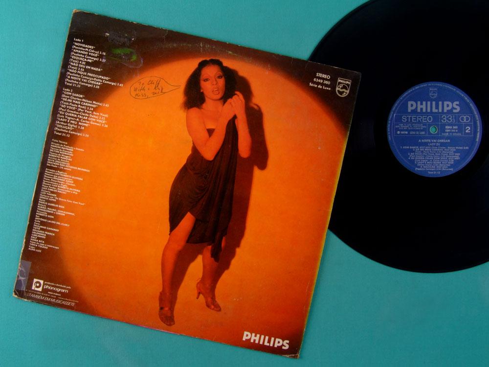 LP LADY ZU A NOITE VAI CHEGAR 1978 SOUL GROOVE DJ FUNK DISCO BRAZIL