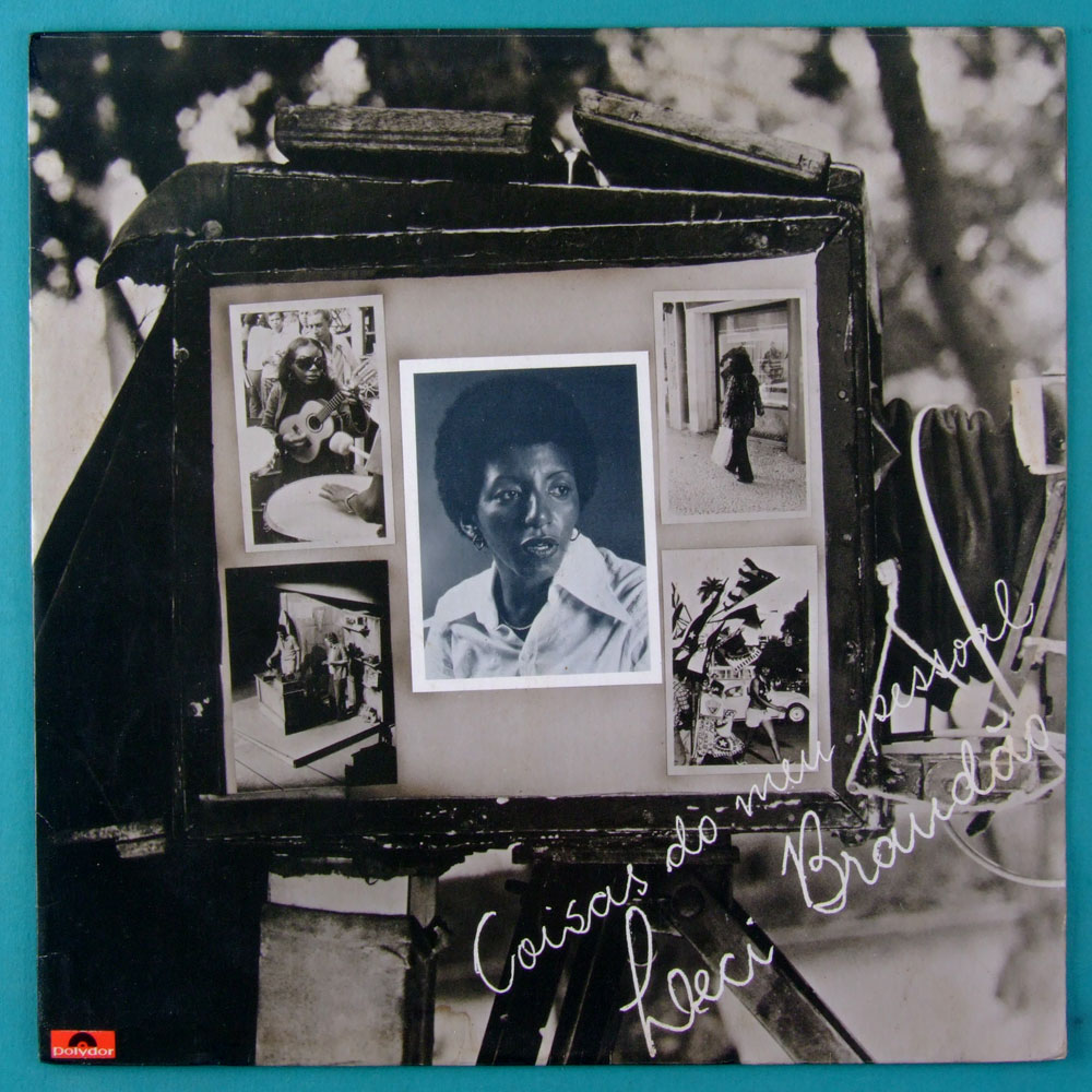 LP LECI BRANDAO COISAS DO MEU PESSOAL 1977 SAMBA ROOT BOSSA BRAZIL