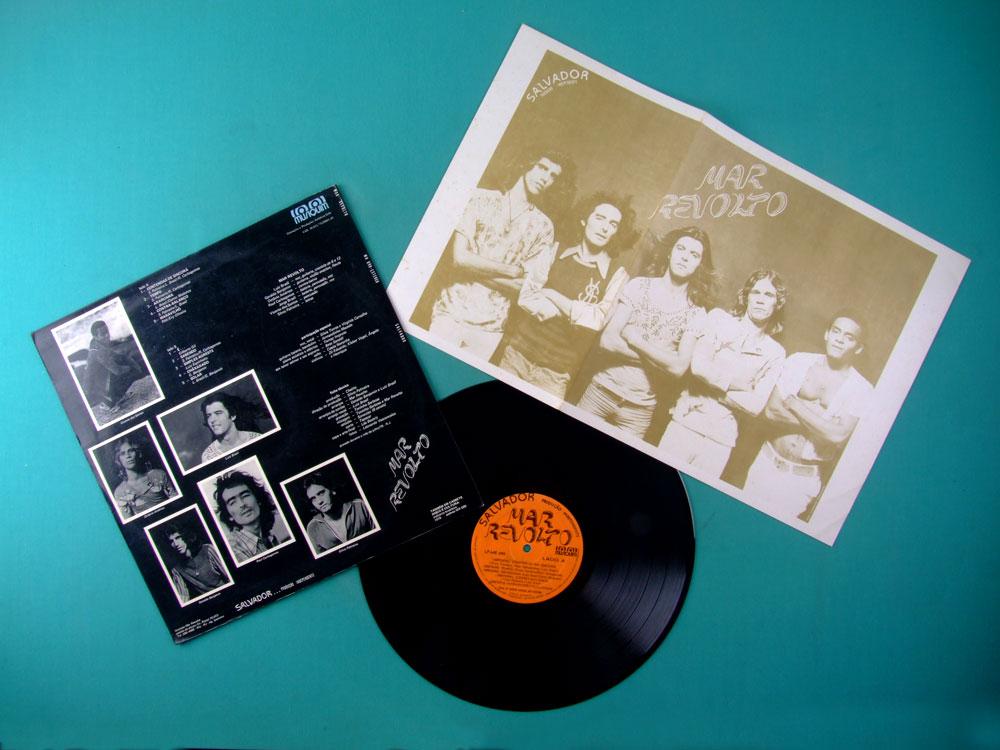 LP MAR REVOLTO 1979 DEBUT ARMANDO MACEDO ARMANDINHO FOLK ROCK PSYCH INDIE BRAZIL