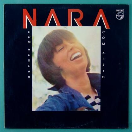 LP NARA LEAO COM ACUCAR COM AFETO 1980 BURNIER BERTRAMI ANTONIO ADOLFO CARTIER FOLK BOSSA BRAZIL