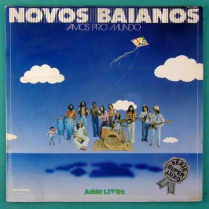 LP NOVOS BAIANOS VAMOS PRO MUNDO 1974 SAMBA BOSSA PSYCH FUNK HIPPIE CULT BRAZIL