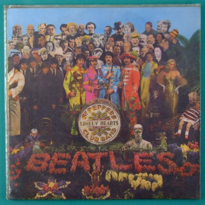 LP THE BEATLES SGT. PEPPER'S LONELY HEARTS CLUB BAND 1967 MONO BRAZIL