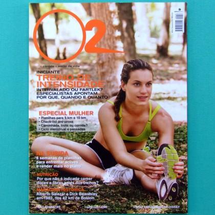 MAG O2 SPORT #58 2008 RUNNING JOGGING HEALTH DIET BIKE BRAZIL