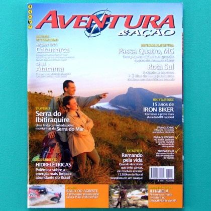 MAG AVENTURA & ACAO #145 TREKKING CLIMBING RALLY BIKE BRAZIL