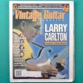 MAG VINTAGE GUITAR OUTUBRO 2000 VOL.14  NO.12 LARRY CARLTON USA