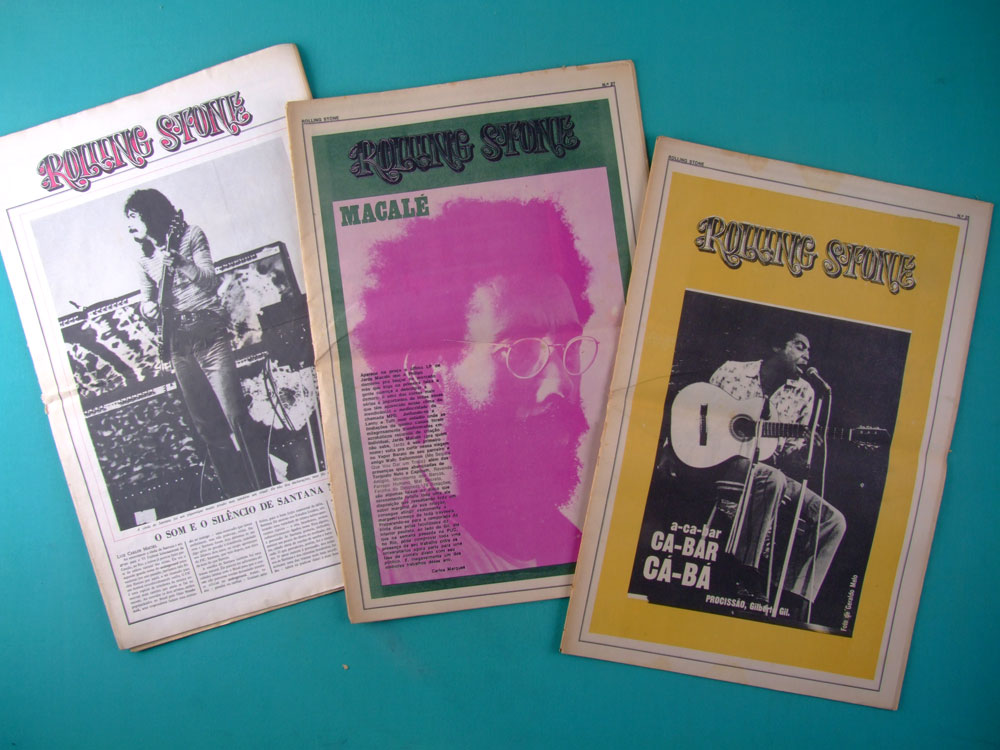 MAG COLLECTION NEWSPAPER ROLLING STONE 1971 / 2006 BRAZILIAN EDITION BRAZIL