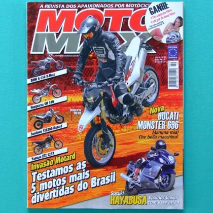 MAG MOTO MAX #22 RALLY MOTOCROSS TREKKING KASINSKI BRAZIL
