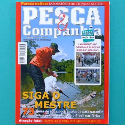 MAG PESCA E COMPANHIA FISHING #155 2007SPORTING TOUR BOAT BRAZIL