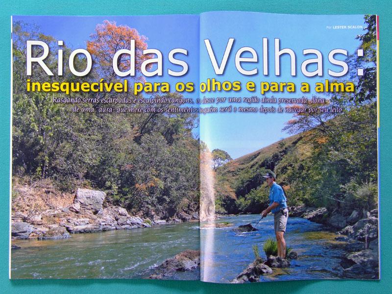 MAG PESCA E COMPANHIA FISHING #154 2007 SPORTING TOUR BOAT BRAZIL
