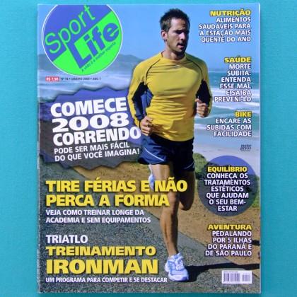 MAG SPORT LIFE #74 2008 RUNNING EXERCISE WALK BIKE HEALTH BRAZIL