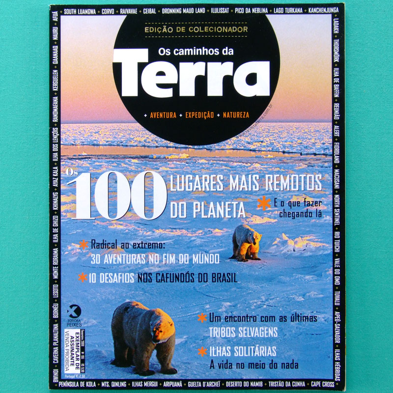 MAG TERRA #190 ADVENTURE TOUR CLIMB TREKKING INDIAN BRAZIL