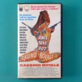 VHS 007 JAMES BOND CASSINO ROYALE 1967 BRAZIL