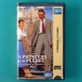 VHS ROMAN HOLIDAY A PRINCESA E O PLEBEU 1953 / 1983 GREGORY PECK AUDREY HEPBURN BRAZIL