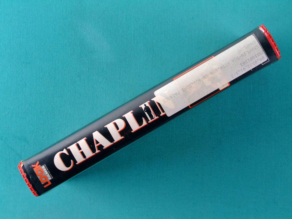 VHS RICHARD ATTENBOROUGH CHAPLIN 1992 MARIO KASSAR BRAZIL
