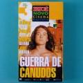 VHS SERGIO REZENDE GUERRA DE CANUDOS 1997 ISTO É NOVO CINEMA 03 CLAUDIA ABEU PAULO BETTI BRAZIL
