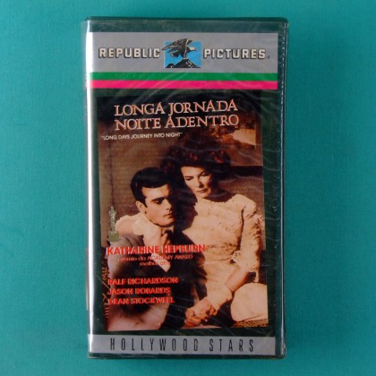 VHS SIDNEY LUMET LONG DAYS JOURNEY INTO NIGHT 1962 KATHARINE HEPBURN BRAZIL