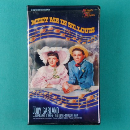 VHS JUDY GARLAND MEET ME IN ST. LOUIS 1986 USA