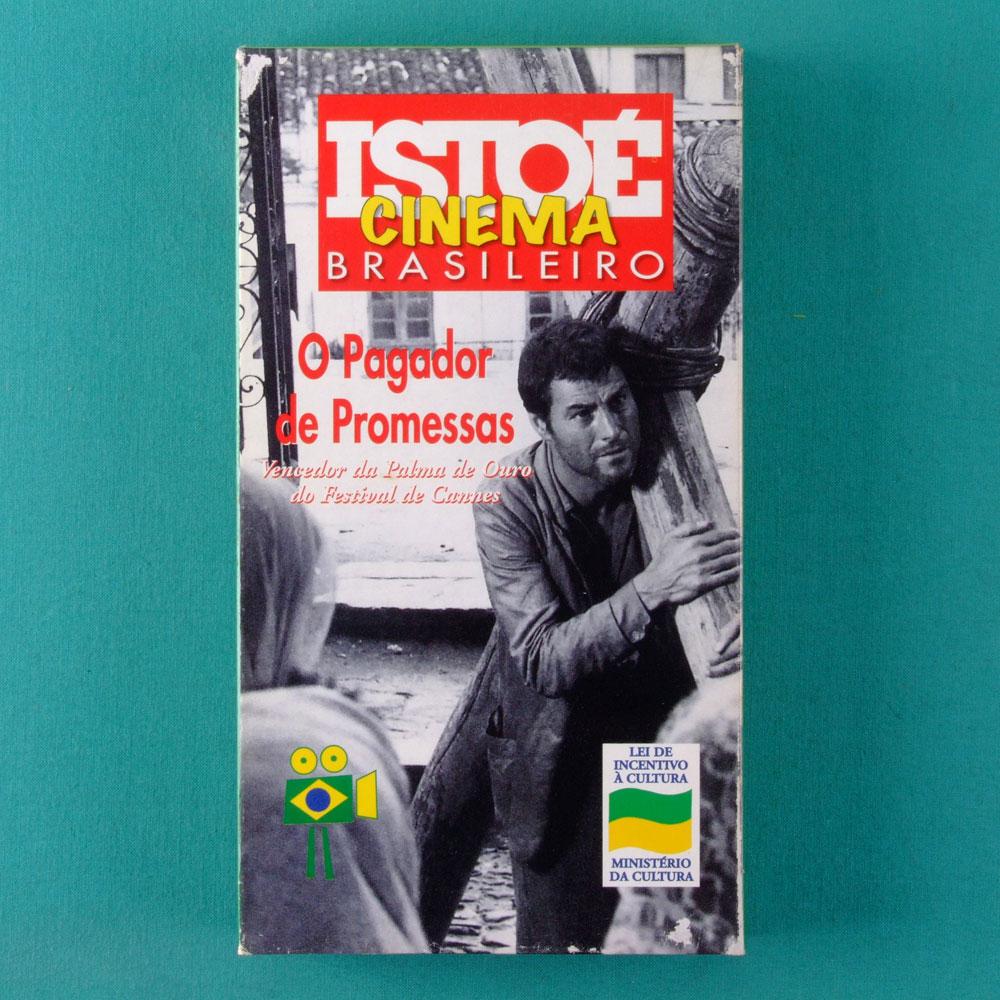VHS O PAGADOR DE PROMESSAS ISTO É CINEMA BRASILEIRO 01 BRAZIL